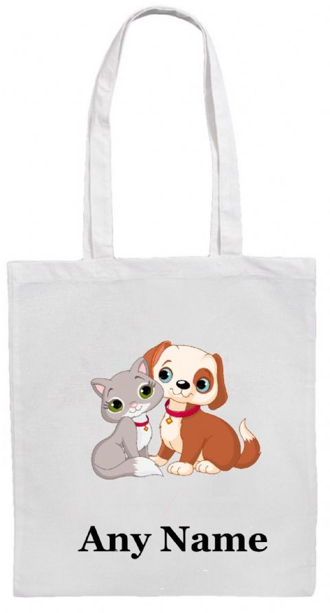 Kitten & Puppy Shoulder Bag